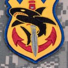 TACTICAL SHARK NAVY SPECIAL OPS TACTICAL BADGE MORALE VELCRO MILITARY PATCH