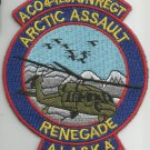 ARMY A Co 4th BATTALION 123rd AVIATION REG MILITARY PATCH ARCTIC ASSAULT ALASKA