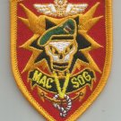 MAC V SOG MILITARY PATCH MILITARY ASSIST. COMMAND VIETNAM STUDIES OPER. GROUP""