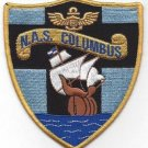 US NAVAL AIR STATION NAS COLUMBUS OHIO MILITARY PATCH
