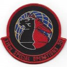 USAF 319th Special Operations Squadron Military Patch - 319th SOS AIR FORCE