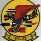 United States NAVY VT-22 Aviation Air Torpedo Squadron Military Patch PANTHER