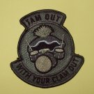 JAM OUT W/YOUR CLAM OUT ACU SPEC OPS TACTICAL BADGE MORALE VELCRO MILITARY PATCH