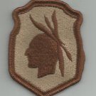 98th DIVISION ARMY RESERVE MILITARY PATCH - DESERT