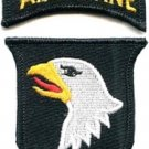 US ARMY - 101st AIRBORNE DIVISION PATCH & TAB - MILITARY PATCH
