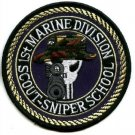 1st MARINE DIVISION SCOUT-SNIPER SCHOOL MILITARY PATCH