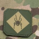 RED BACK ONE MULTI SPIDER COMBAT TRAINING BADGE MORALE PVC VELCRO MILITARY PATCH