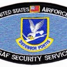 UNITED STATES AIR FORCE USAF SECURITY SERVICES COMMAND MOS MILITARY PATCH