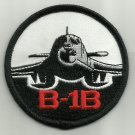USAF B-1B MILITARY PATCH AIR FORCE B1 BOMBER BOEING LANCER PATCH