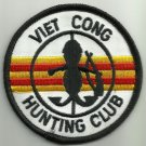 VIETCONG HUNTING CLUB MOTORCYCLE JACKET BIKER VEST MORALE MILITARY PATCH VER. B