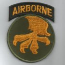 US ARMY - 17th AIRBORNE DIVISION MILITARY PATCH