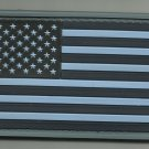 USA AMERICAN FLAG BLUE TACTICAL COMBAT BADGE MORALE 3D PVC VELCRO MILITARY PATCH