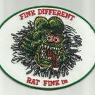 """OFFICIALLY LICENSED ED """"BIG DADDY"""" ROTH FINK DIFFERENT RAT FINK HOT ROD PATCH"""