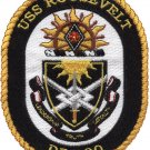 DDG-80 USS Roosevelt Guided Missile Destroyer Military Patch