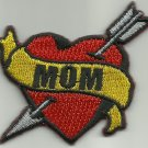 MOM HEART TATTOO ROCKABILLY HOT ROD PUNK MOTORCYCLE JACKET VEST BIKER PATCH