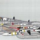 "NAVY TOMCAT VF-191 AVIATION F-14 FIGHTER JET ""SATANS KITTEN"" BACK MILITARY PATCH"