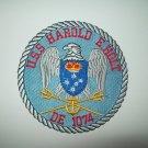 DE-1074 USS HAROLD E. HOLT KNOX CLASS FRIGATE DESTROYER ESCORT MILITARY PATCH