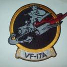 VF-17A US NAVY Pre-Korean War Aviation Flighter Squadron Seventeen Military Patc