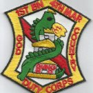 USMC 4th MARINE 1st BATTALION  -  MILITARY PATCH - GOD COUNTRY DUTY CORPS