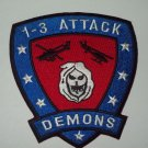 ARMY 1st Battalion 3rd Aviation Regiment Military Patch DEMONS
