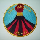 USS AKUTAN (AE-13)  AMMUNITION SHIP MILITARY PATCH