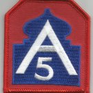 UNITED STATES ARMY -  5th ARMY  -   MILITARY PATCH