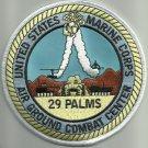 US MARINE CORPS 29 PALMS AIR GROUND COMBAT CENTER MILITARY PATCH MCAGCC USMC