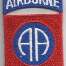 US ARMY - 82nd AIRBORNE DIVISION MILITARY PATCH - AA