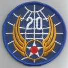 20th AIR FORCE - ARMY MILITARY PATCH - Twentieth Air Force USAF