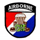 US ARMY AIRBORNE PACK PARACHUTE BOOTS Military Patch