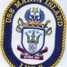 LHD 8 USS Makin Island Amphibious Assault Ship PATCH