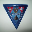 US NAVAL SUPPORT ACTIVITY * MID-SOUTH *  - MILITARY PATCH