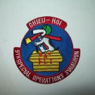 9TH SPECIAL OPERATIONS SQUADRON MILITARY PATCH-SNOOPY- CHIEU HOI
