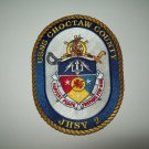 USNS CHOCTAW COUNTY JHSV-2 JOINT HIGH SPEED VESSEL MILITARY PATCH