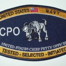 United States Navy CHIEF PETTY OFFICER Ratings Patch - CPO - Military Patch