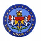 LPH-9 USS GUAM IWO JIMA-CLASS AMPHIBIOUS ASSAULT SHIP MILITARY PATCH