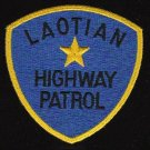 Laotian Highway Patrol Military Patch - VIETNAM