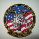 VF-213 VF-31 USS THEODORE ROOSEVELT 2005-2006 LAST TIME BABY USN MILITARY PATCH