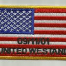 9-11 UNITED WE STAND AMERICAN FLAG MOTORCYCLE JACKET BIKER VEST MILITARY PATCH