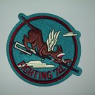 VF-74 US Navy Aviation Fighter Squadron Military Patch FLYING WOLFHOUNDS
