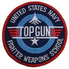 United States NAVY FIGHTER WEAPONS SHCOOL - TOP GUN - MILITARY PATCH