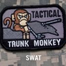 TACTICAL TRUNK MONKEY - SWAT - TACTICAL BADGE MORALE VELCRO MILITARY PATCH