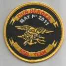 OUR HEROES MAY 1st 2011 - SEAL TEAM VI - SEAL TEAM 6 BIKER MILITARY PATCH