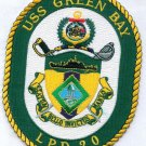 US NAVY LPD-20 USS Green Bay Dock Landing Ship Military Patch