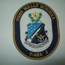 T-AKE 8 USNS WALLY SCHIRRA DRY CARGO AMMUNITION SHIP MILITARY PATCH