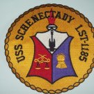 US NAVY - LST-1185 USS Schenectady Landing Ship Tank Military Patch