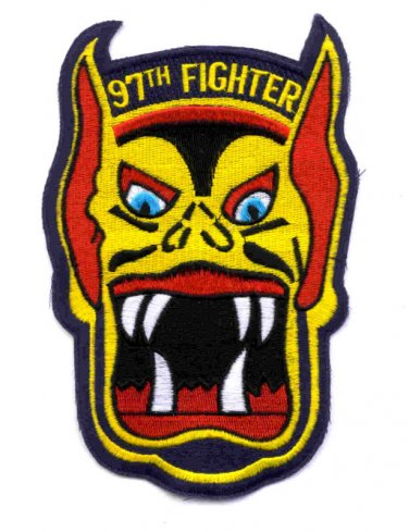 97th Air Force Fighter Squadron Military Patch