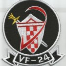 US NAVY Aviation Fighter Squadron 24 VF-24 Military Patch SHIELD