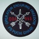 "US ARMY ODA 965 ""OEF/FB PUCHI GHAAR"" VELCRO MILITARY PATCH"