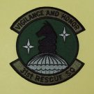 United States Air Force 31st Rescue Squadron Military Patch VIGILANCE AND HONOR